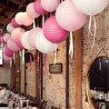 """1 pc 8 """"20 cm Decorativo Lampião Papel Bola Suprimentos Festival Chinês da Lanterna de Papel Para A Festa de Casamento Decoração"""