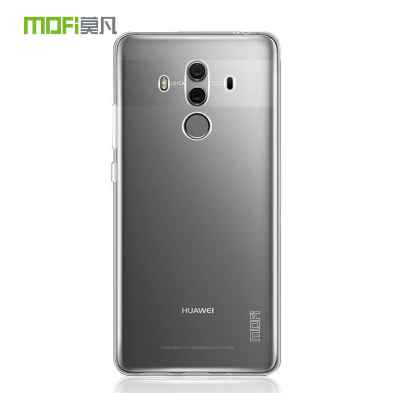 Huawei mate 10 pro case tpu soft cover transparent protective case mofi original mate10 pro back cover ultrathin flexilbe 6.0''