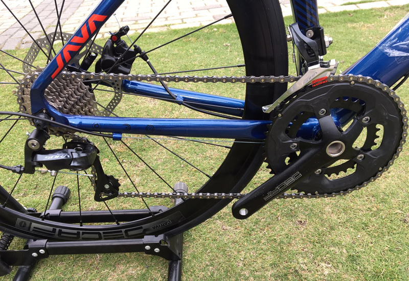 HTB1BlqqX.z1gK0jSZLeq6z9kVXaJ 2019 JAVA Siluro3 Aluminum Alloy Road Bike Double Disc Brake 18 Speed Road Bicycle SORA R3000 Shift System bike Carbon Fork