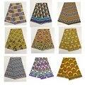 Дешевая ткань Гана кэнте дизайн 100% полиэстер Анкара африканская вощеная ткань принтом guinea tissu голландская восковая ткань с принтом 6 ярдов