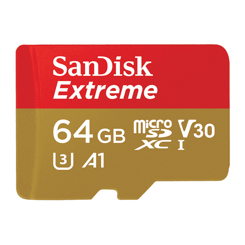 Image 5 - SanDisk Extreme Pro micro sd Card 32GB 64GB 128GB A2 U3 V30 Class10 Tf Card Max 170Mb/s Flash memory card Microsd carte micro sd-in Micro SD Cards from Computer & Office