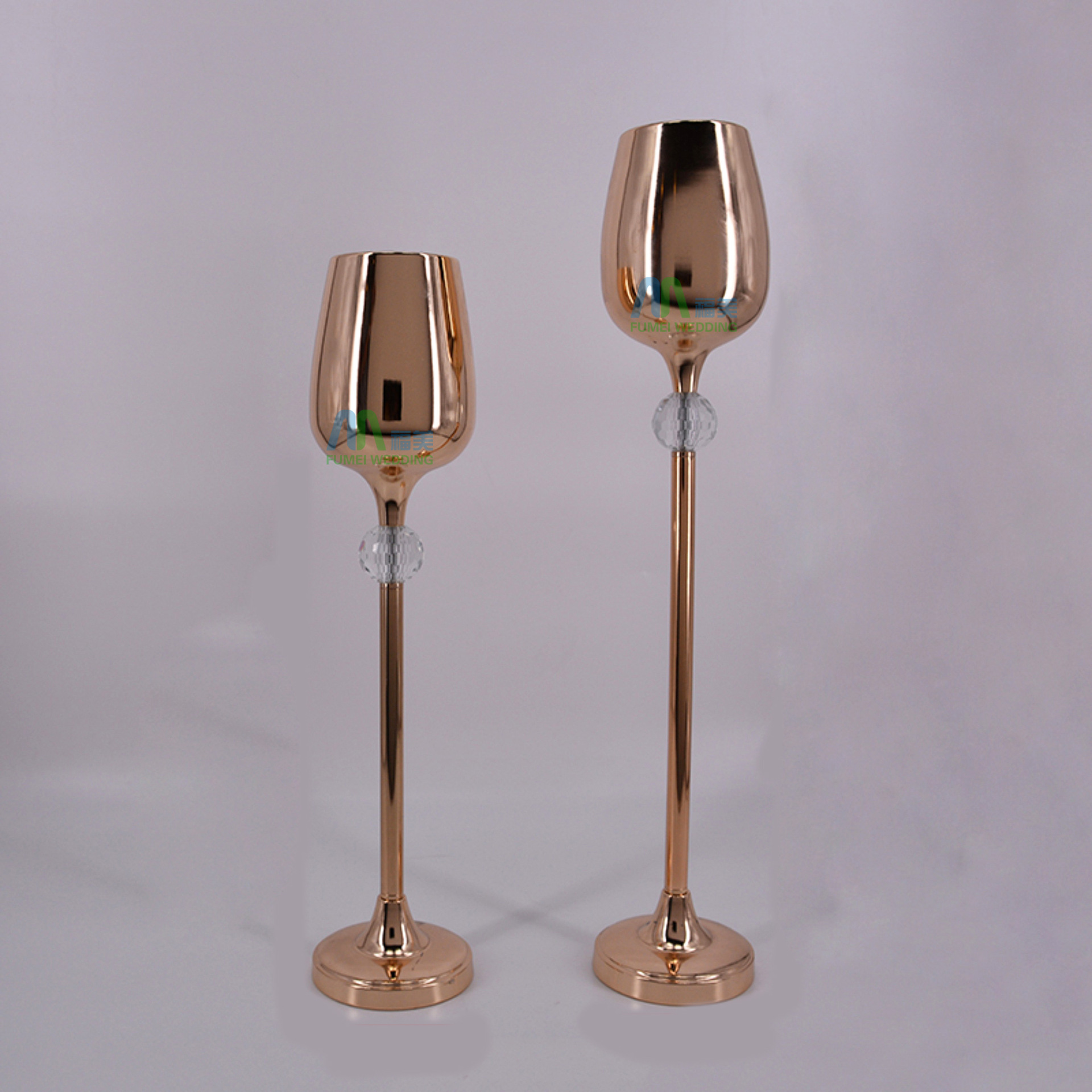 Online shop wholesale 10 pieces tall goblet vase rose gold flower online shop wholesale 10 pieces tall goblet vase rose gold flower ball holder with crystal glass ball stand aliexpress mobile floridaeventfo Images
