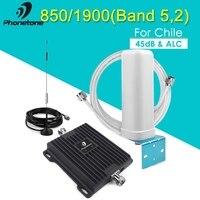 Новый усилитель сигнала повторитель 3g 4G 850 мГц UMTS 1900 мГц полоса 5 + B 2 Сотовый усилитель сигнала 850 1900 мГц повторитель усилитель сигнала
