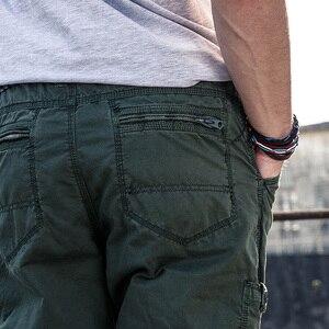 Image 4 - 2019 ใหม่ Multi   Pocket ทหารกางเกงหลวมกางเกงสไตล์ผู้ชาย Joggers กางเกงยุทธวิธี Casual แฟชั่นกางเกงชาย