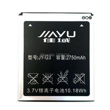 2750 мАч Высокое Качество Аккумуляторная Батарея Для JIAYU G3 G3T Мобильного Телефона Аккумулятор Bateria + Код Отслеживания