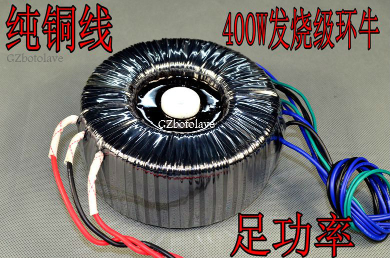 YS  400W toroidal transformer temperature transformer double 30V+ double 15+9V line (HIFI power amplifier power transformer) 500va toroidal transformer match for mj2001 a50m and iraud350 amp board