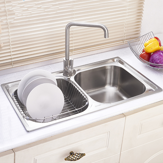 Buy 304 Stainless Steel Kitchen Sink Faucet Kitchen Accessories 82 45 23cm