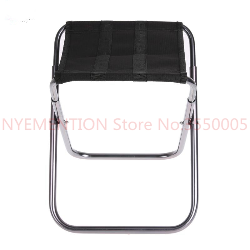 Aluminium Alloy Folding Fishing Seat Stool Portable Foldable Fishing Chair For Outdoor Camping Fishing Picnic BBQ Beach 20pcs