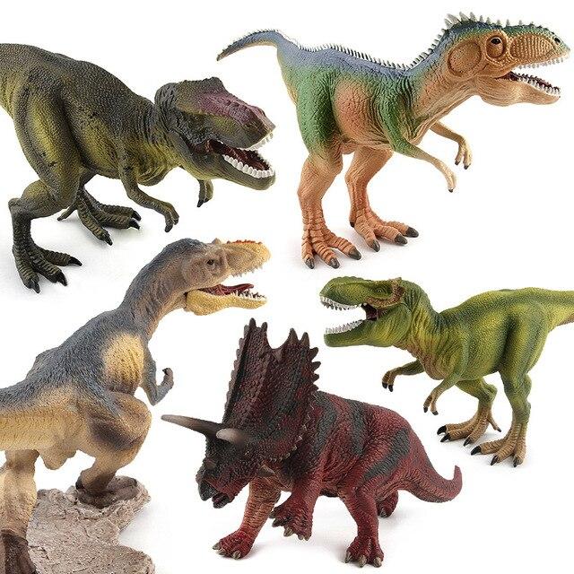 Big Dinosaur Models Animal Figures Jurrasic Tyrannosaurus
