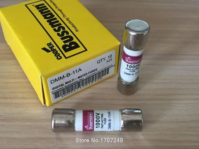 DMM with FLUKE Multimeter F87V/F175/F177/F179/F287/F289 Fuse US BUSSMANN FUSE Ceramic fuse DMM-B-11A DMM-B-11AR DMM-11A