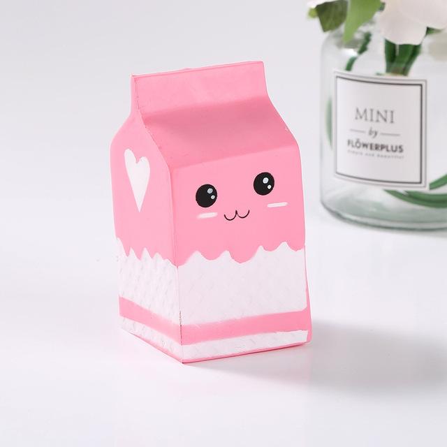 Milk Box Squishy Slow Rising Antistress Toy