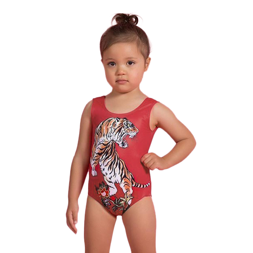 All in one swimsuits for baby girl-8638
