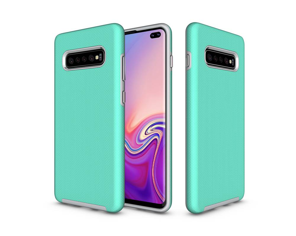 Armor Case For Samsung Galaxy S10 Plus Cover Rugged PC+TPU Phone Bag Case For Samsung Galaxy S10 S10plus Back Cover