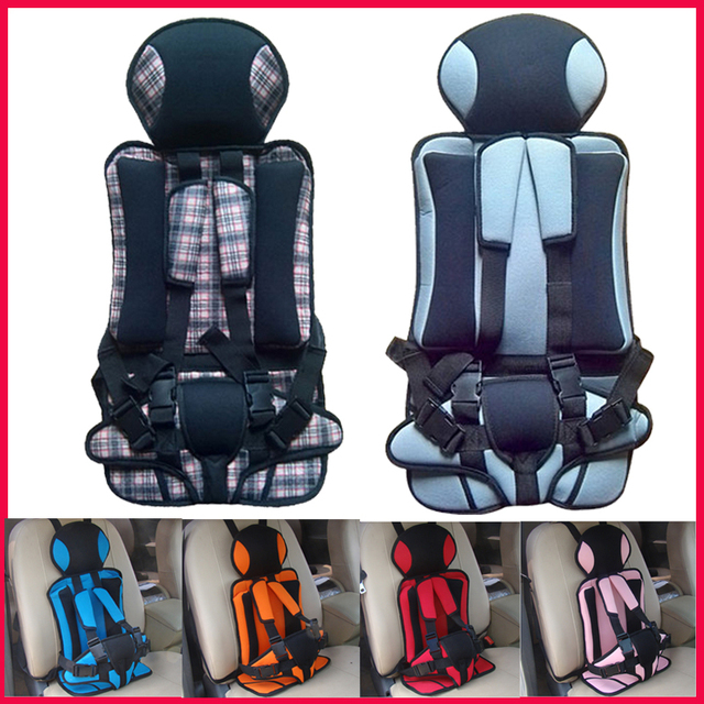 Child Car Seat 6 Colors Vehienlar Thickening Cover Portable Annbaby Safety Infant