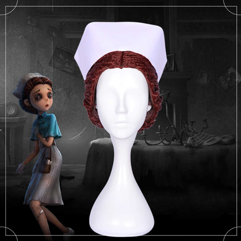 Game Identity V Cosplay Wig Doctor Emily Dyer Cosplay Wig Heat Resistant  Synthetic Wig Halloween Carnival Party