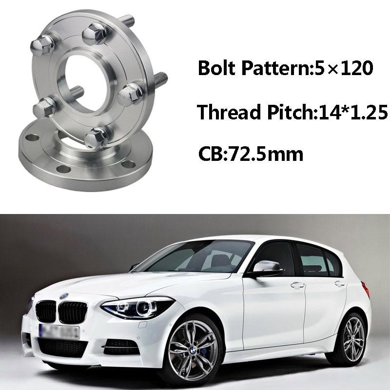 Jinke 2pcs 5x120 72.5CB Centric Wheel Spacer Hubs M14*1.25 Bolts For BMW F20 F13 F01 F25 F11 F10 F12 F21 F15 F34 F02 F26 F33 F30 колесные диски wiger wg 0319 bmw 7x17 5x120 d72 6 ет38 mgm