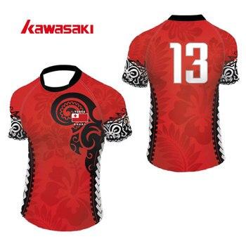 Sublimación Marca Estampado Camisetas Entrenamiento Kawasaki HombreTranspirables Rugby Para De Poliéster Personalizadas Con rCxdoeB