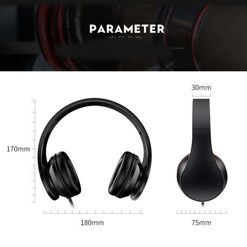 Image 4 - Gaming Headset Earphone Wired Game Surround Sound Headphone Stereo Bass Music Headsets With Mic For PC Chat Gamer PS4 Play 3.5mm-in Headphone/Headset from Consumer Electronics
