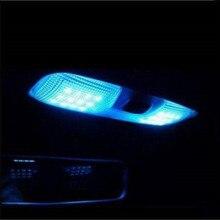 Автомобильный Стайлинг светодиодный светильник для чтения на крыше светодиодный светильник для салона автомобиля светильник чехол для FORD Focus 2 MK2 Fiesta Ecosport 2005