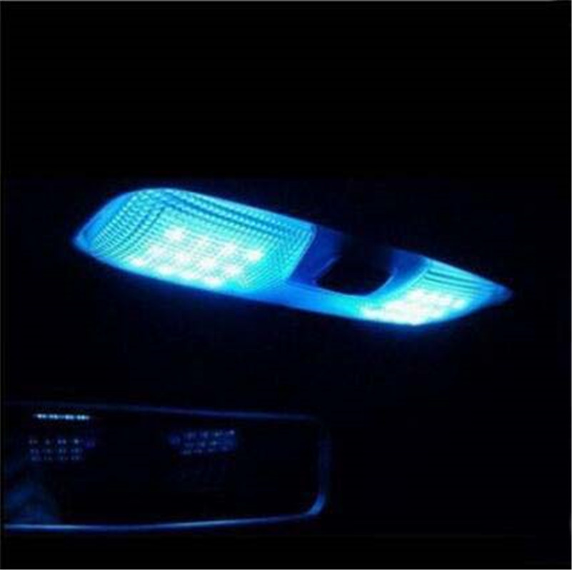 Car styling LED reading lamp roof led lamp car interior light case for <font><b>FORD</b></font> <font><b>Focus</b></font> 2 <font><b>MK2</b></font> Fiesta Ecosport <font><b>2005</b></font>-2014 image