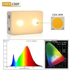 Image 3 - 2 יח\חבילה COB Led לגדול אור קריס 400 W צמח לגדול אור ספקטרום מלא לחממה הידרופוני מקורה צמח צמיחה לגדול אוהל