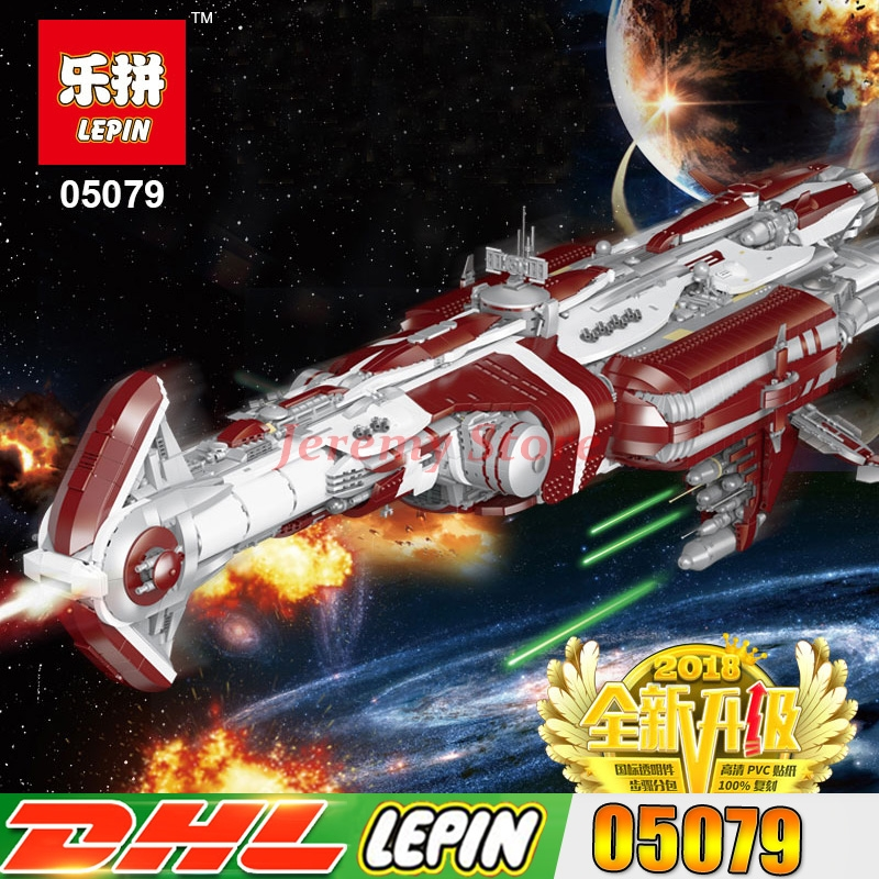 7956 PCS Lepin 05079 Star Set War Series The MOC Zenith Old Republic escort cruiser Set Building Bricks Toys for Boys rollercoasters the war of the worlds