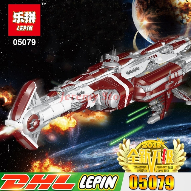 LP 05079 7956 pcs Classic Star War Series The MOC Zenith Old Republic  escort cruiser Set