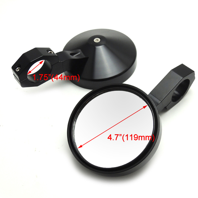 Adjustable 1 75 Quot Heavy Duty Round Sport Mirror Clamp Side