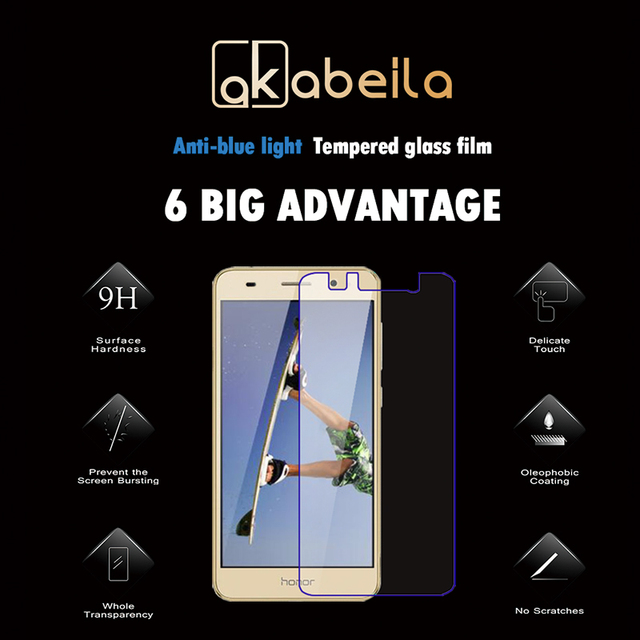 Tempered Glass Film for Huawei Y6 II Honor Holly 3 CAM-L21 CAM-L32 CAM-L03 CAM-L23 Honor 5A Play Delicate Touch Screen Protector
