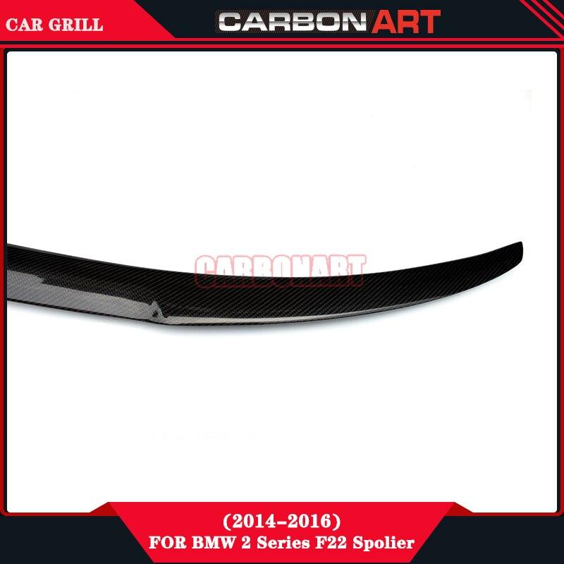 Carbon Fiber Spoiler For Bmw 2 Series F22 F23 F87 M4 Style Automobile Tuning 218i,220i,228i,M235i, 218d,220d, 225d, M2