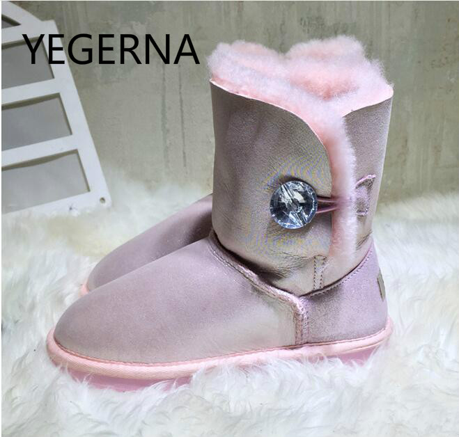 2017 Hot Sale 100% Natural Fur  Winter Warm Shoes Women Boots Genuine Sheepskin Snow Boots Warm Wool Women Ankle Boots liberty project аккумулятор liberty project li ion 2500 мач голубой портативный