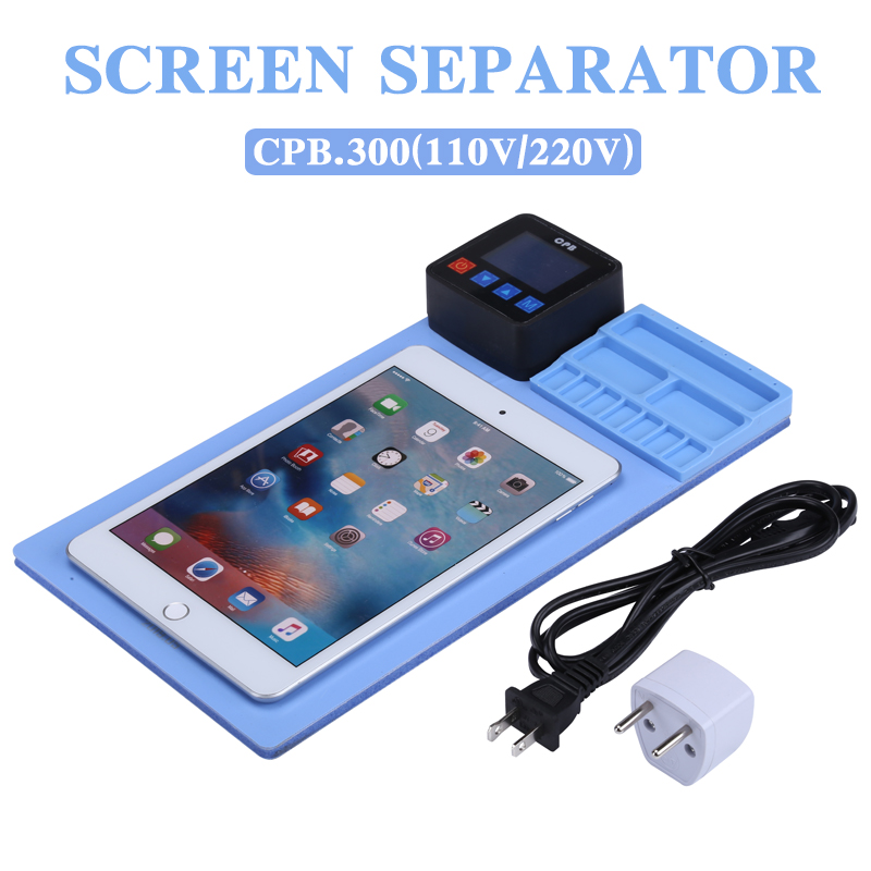 Newest Mobile Phone Lcd Screen Separator Heating Pad Glass Opening Separating Machine For Mobile Phone iPad Tablet Repair Tool