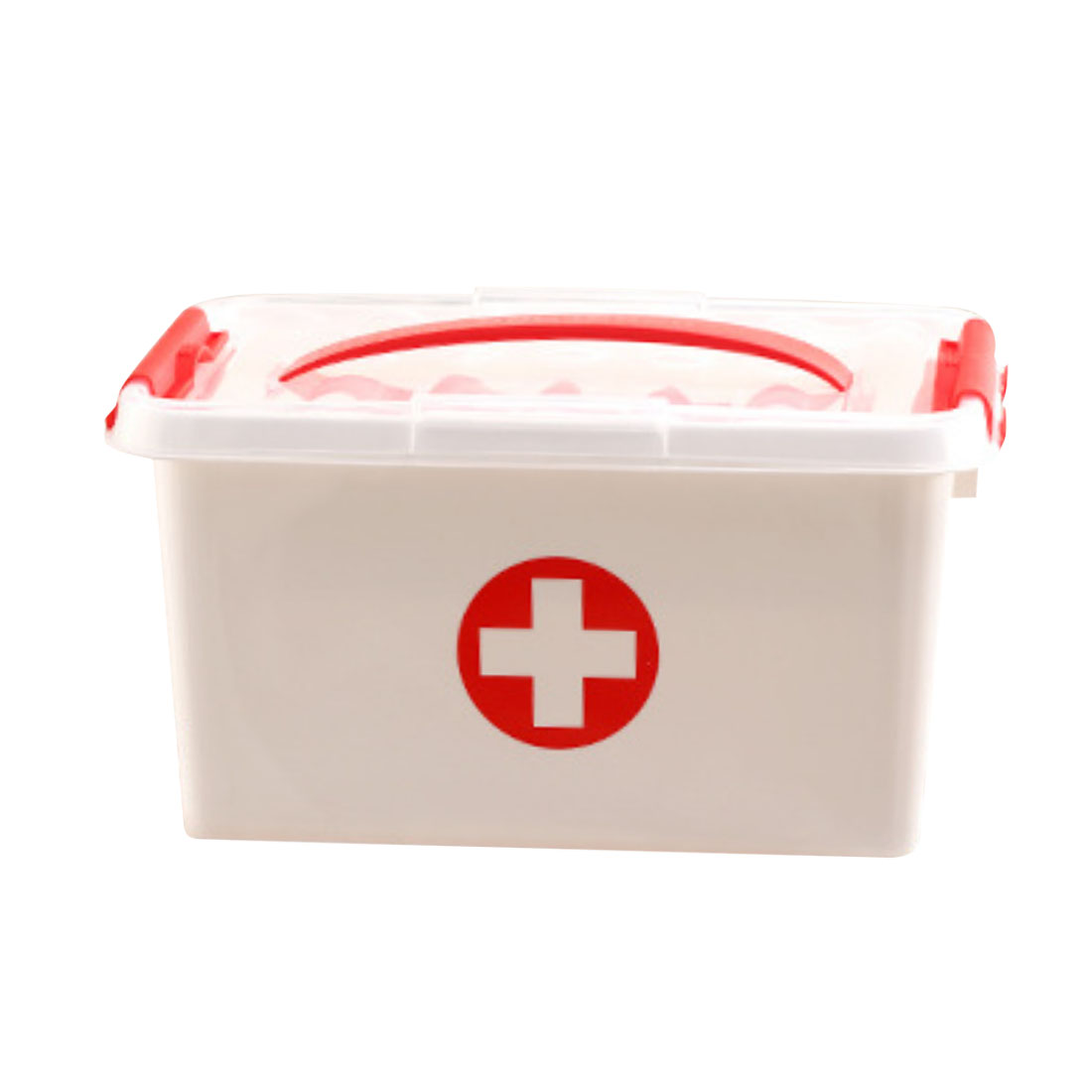 US $14 88 27% OFF|iTECHOR 1 Pcs Plastic Domestic Medical Kit Medicine  Storage Box First Aid Case For Home Office Outdoor Activities Use Hot  Sale-in