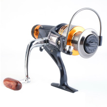 10+1BB Metal Fishing Reel Spinning 5.1:1 Gold Coil Spool 5000-6000 Front Drag free shipping