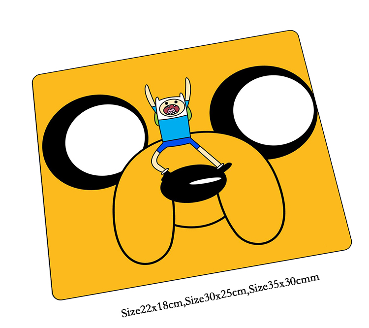 Adventure Time mouse pad HD print pad to mouse notbook computer mousepad High quality gaming padmouse gamer to laptop mouse mats