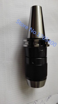 CAT40 Apu16  Integrated keyless self tight Drill chuck for milling lathe Range:1-16mm