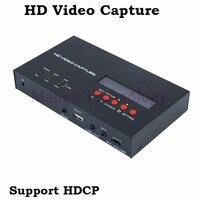 2018 eZcap283 YPbPr Регистраторы коробка с запланированные Запись 1080 P HDMI игры Capture для Xbox один/360 PS3 HD видео