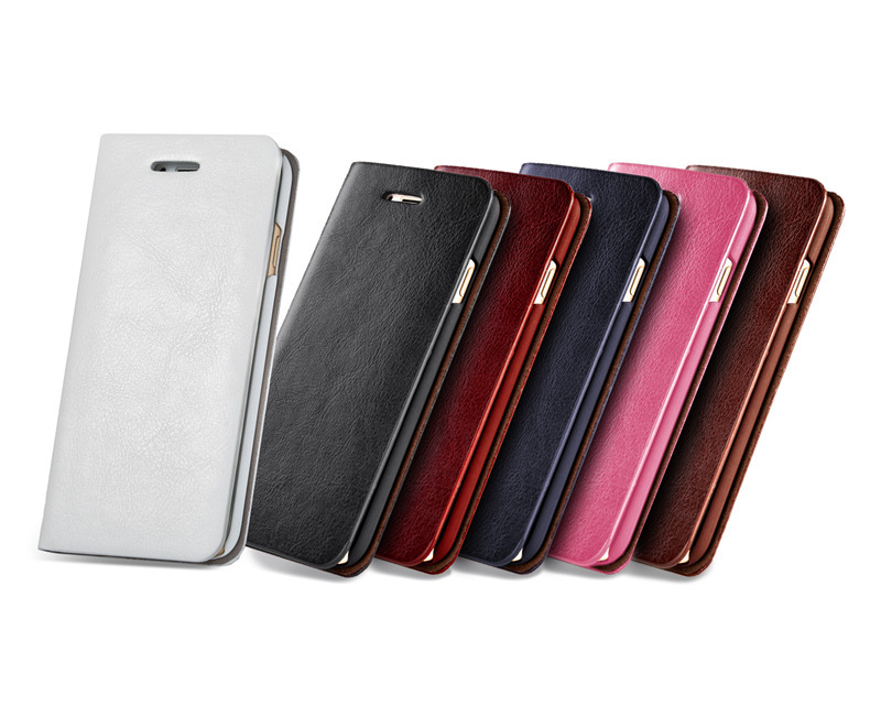 Цена за Деловые кожаные + металлический корпус для iPhone 7 Plus телефон сумка-чехол для iPhone 7 Plus Капа противоударный Coque Новинка Бесплатная доставка