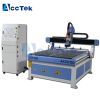 Jinan cnc milling machine 1212 Wood cnc Vacuum table ATC ,cnc wood with tool changer