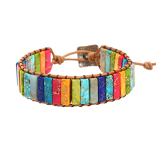 7 Chakra Colored Handmade Bracelet