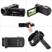 ORDRO HDV Z8 Full HD 1080P Video Camera Camcorder 24 MP 16x Digital Zoom LCD Touch