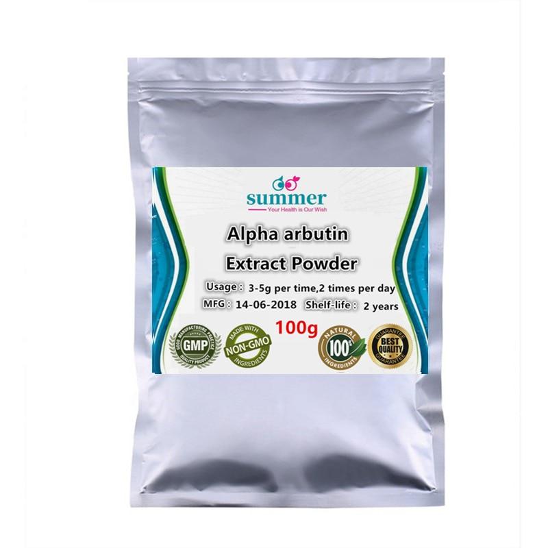 100-1000g Natural Skin Lightening-Alpha Arbutin Extract,Arbutin Extract Powder For Anti-inflammatory Drugs Raw Materials