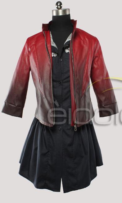 2016 Ванда django maximoff Косплэй костюм Алая ведьма Платье для косплея Мстители Возраст Ultron фильм