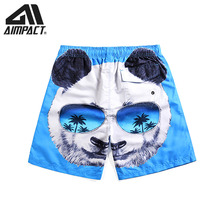 Beach-Shorts Homewear Swimming-Trunks Surf Fashion Men Print for Casual Summer Holiday