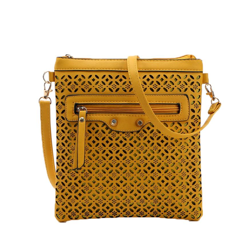 Women Messenger Handbags Small Hollow Out Bags Ladies shoulder bags for men bao bao #5M