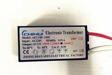 цена на 1pc New 200W Electronic Transformer 220V-12V LED Halogen Light Bulb Lamp Power Driver Supply 3 year warranty
