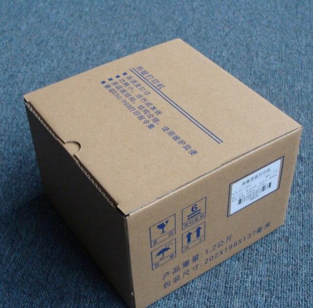 Puerto paralelo de Alta velocidad al azar negro blanco 58mm 5890 T de poco ruido impresora térmica de Recibos POS impresora térmica mini impresora