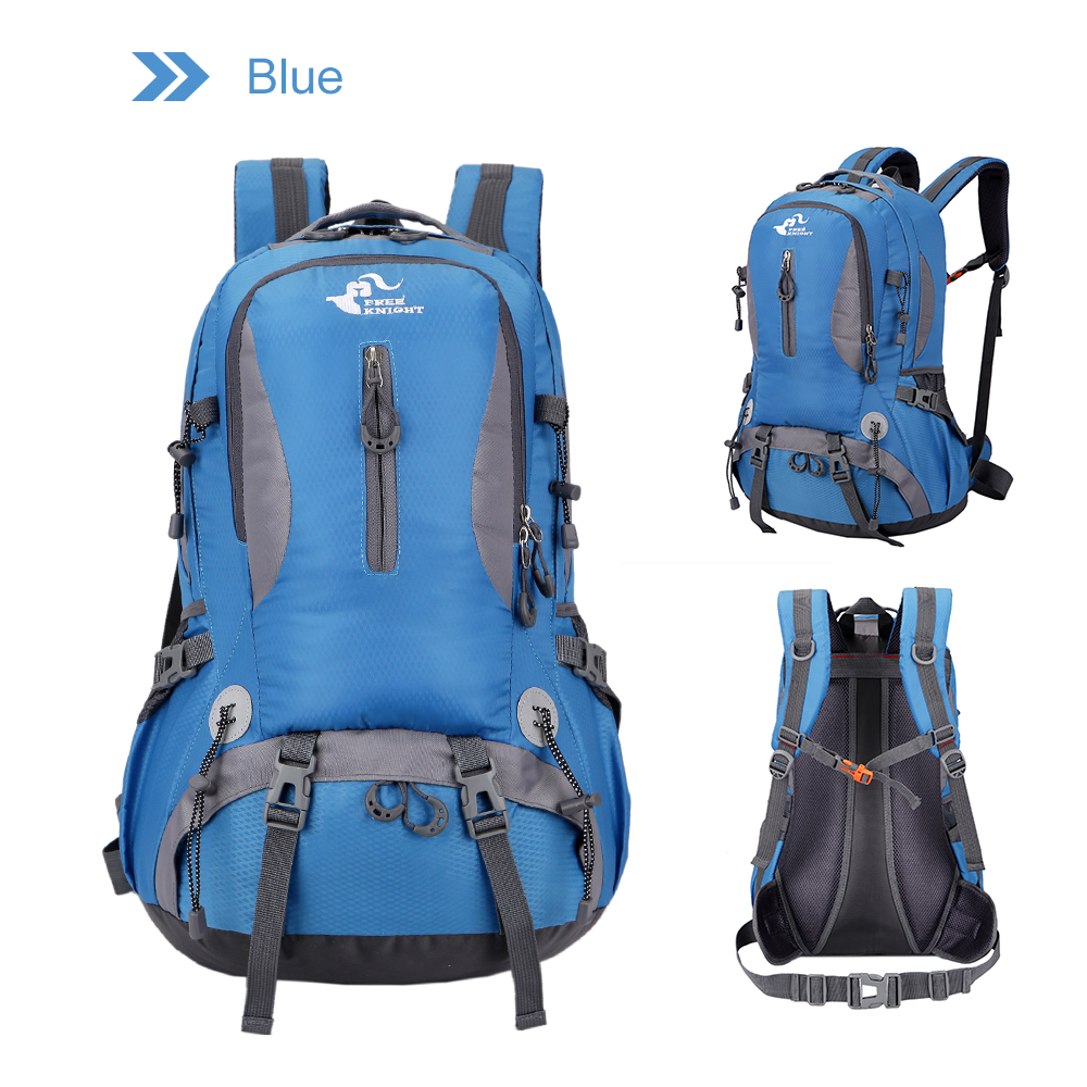 39e6776884 Free Knight 40L Climbing Rucksack Waterproof Hiking Backpack Camping Sport Outdoor  Bags Travel Bag Laptop Backpack for Men Women