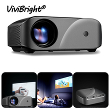Tragbare F10 MINI Projektor 1920*720P Auflösung LED Projektor Für Home Cinema Unterstützung Full HD Tragbare 3D Beamer EU/Us stecker