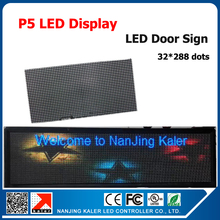 """TEEHO High Definition P5 Indoor LED Module SMD 3in1 64*32dots Full Color LED Display Screen 293*37cm 115""""*15"""" LED Sign Board"""